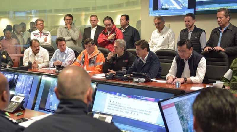 Peña Nieto decreta tres días de luto nacional por terremoto