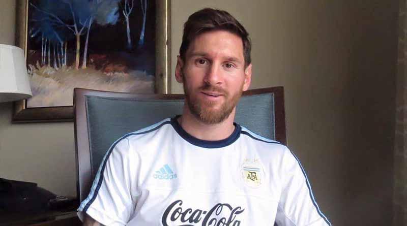 Lionel Messi envía mensaje de apoyo a México y a otros países