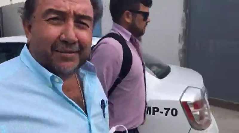 Comparece Antonio Agúndez ante PGJE por presunto desvío de 37 mdp