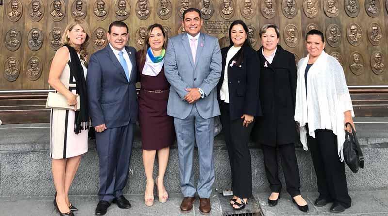 Cubre alcalde Arturo de La Rosa agenda conjunta  en CDMX