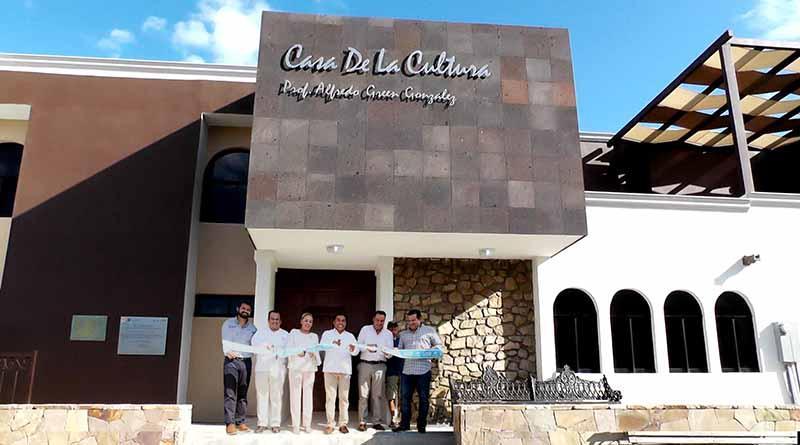 Inversión histórica de 4.5 mdp en casa  de la cultura Prof. Alfredo Green González