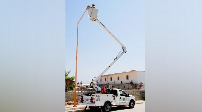 Servicios Públicos mantiene constante estrategia para reparación y mantenimiento de luminarias