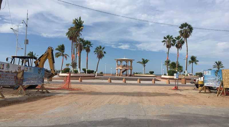 Cierre temporal de vialidad por obras de remodelación del malecón