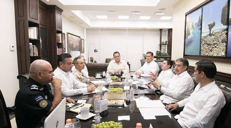 Acuerdan mayor operatividad y prevención en Grupo de Coordinación: Carlos Mendoza