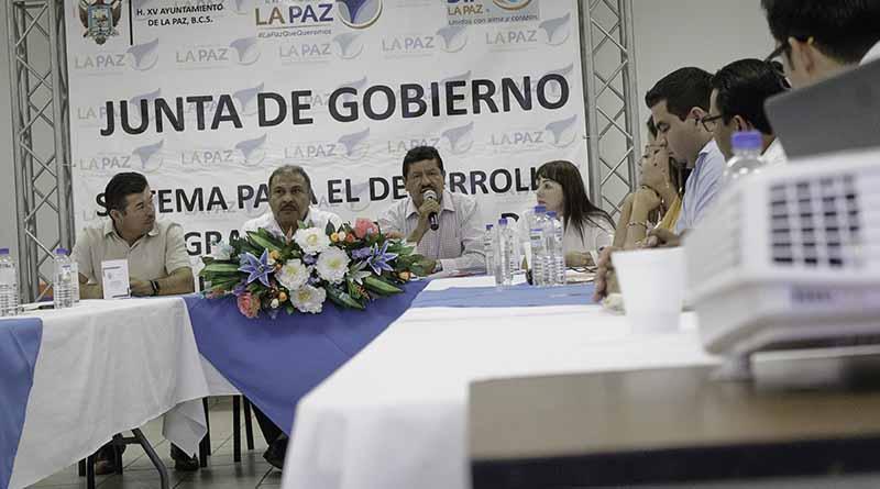 Realiza DIF Municipal La Paz, Primera Sesión de la Junta de Gobierno