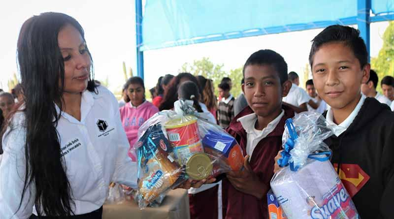 Promueven en alumnos de telesecundarias de La Paz el valor de la solidaridad