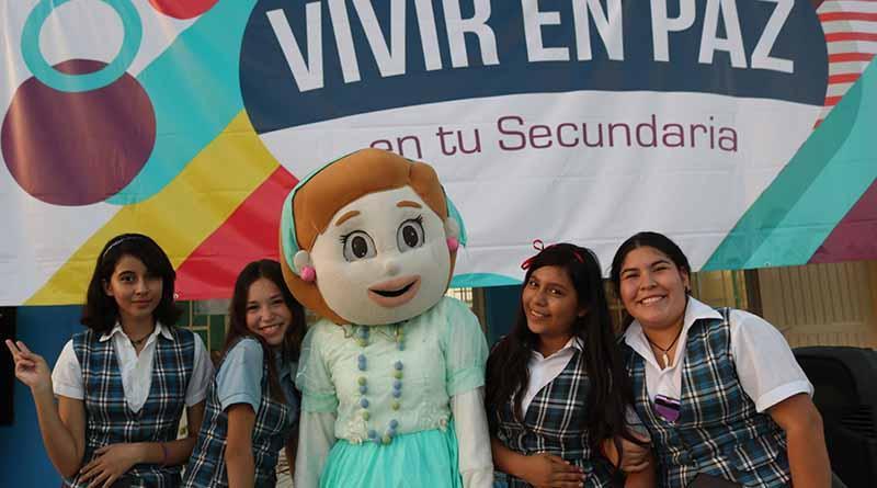 Con rally de Vivir en Paz promueve SEP prevención de consumo de drogas,ciber acoso y violencia en adolescentes