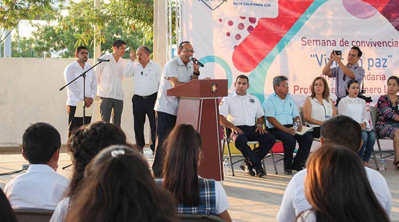 Realiza SSA de BCS acciones de prevención de adicciones en centros escolares