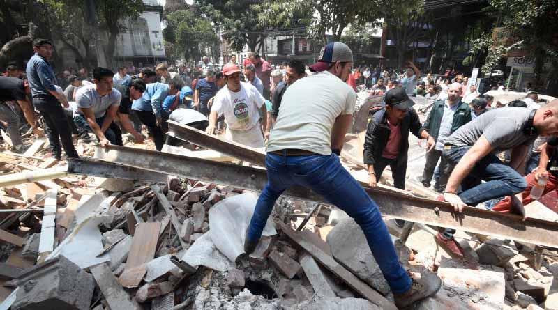Patrones deben pagar gastos a trabajadores lesionados en sismos