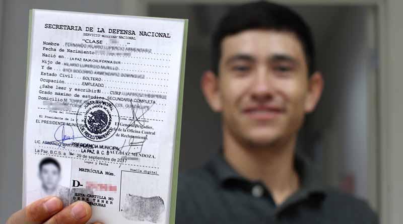 13 de octubre vence el plazo para solicitud para pre cartilla del Servicio Militar Nacional