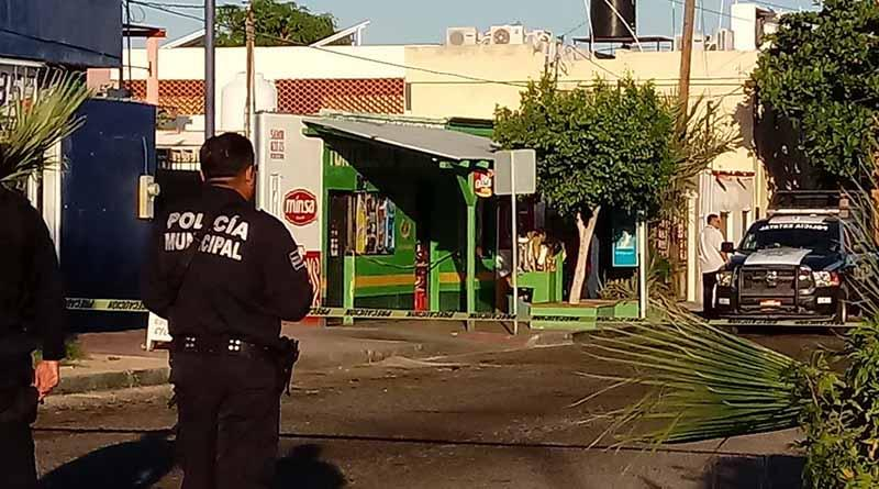 Matan a balazos a un empleado de tortillería en La Paz