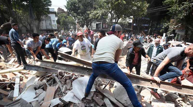 Termina rescate de cuerpos en la ciudad; inicia retiro de escombros en CDMX