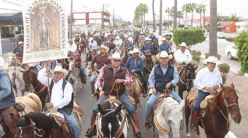 Encabeza Alcalde Francisco Pelayo Cabalgata a San Javier