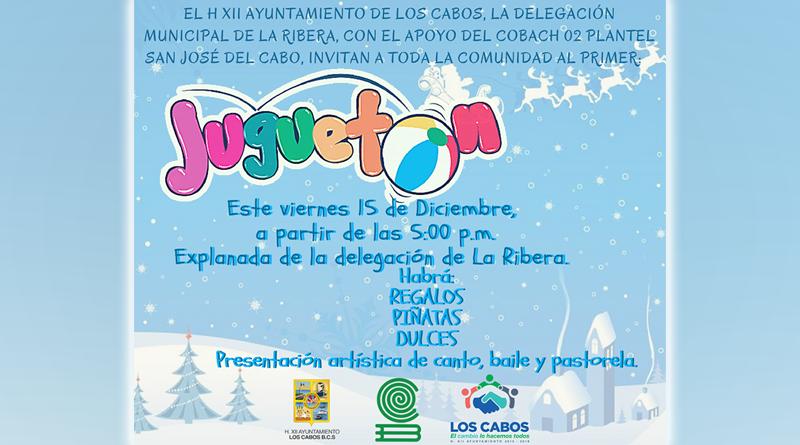 "Se invita al ""Primer Juguetón"" en La Ribera"
