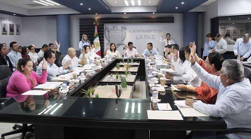 Cabildo de La Paz aprueba Cuenta Pública del mes de octubre