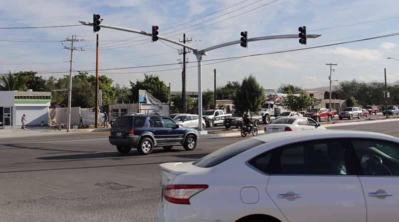 Inicio la modernización de semáforos: Alcalde de La Paz