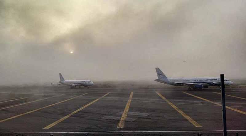 Banco de niebla afectó vuelos en Aeropuerto capitalino
