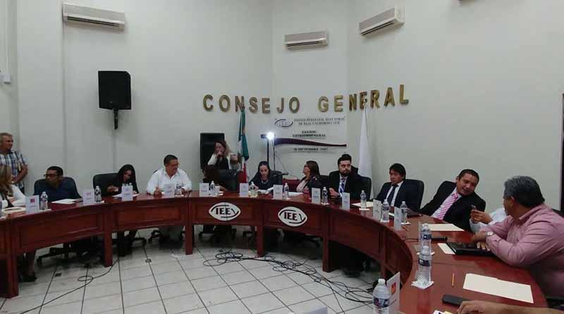 Arranca IEE proceso electoral en BCS