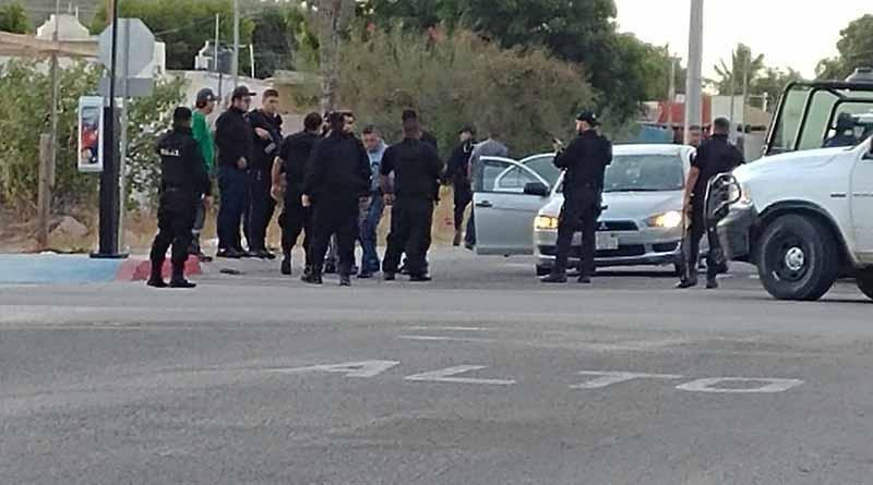 Enfrentamiento a balazos entre Ministeriales y pistoleros deja un herido en La Paz
