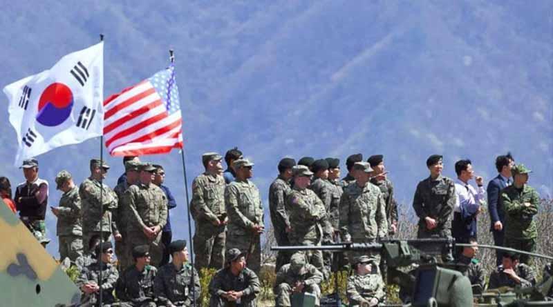 EUA y Corea del Sur inician maniobras militares ante Norcorea