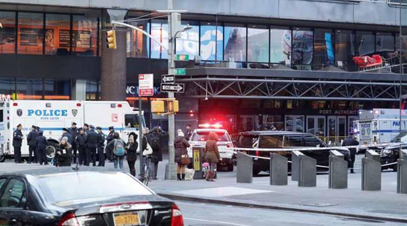 Sólo un herido tras explosión en principal terminal de autobuses de NY