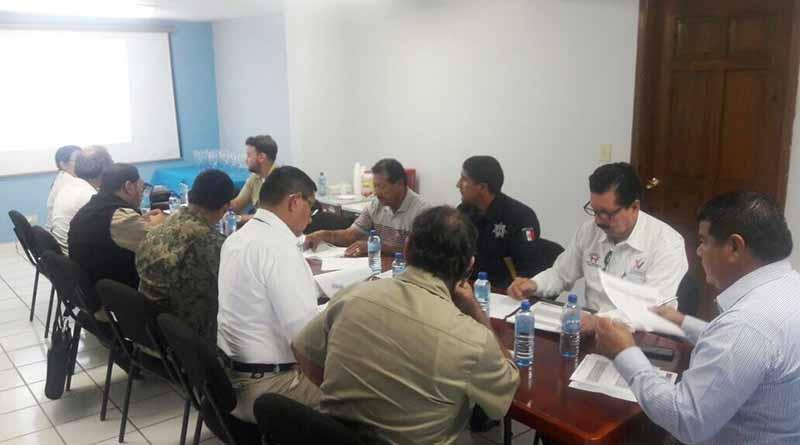 Encabeza Protección Civil Reunión Mensual en Puerto San Carlos