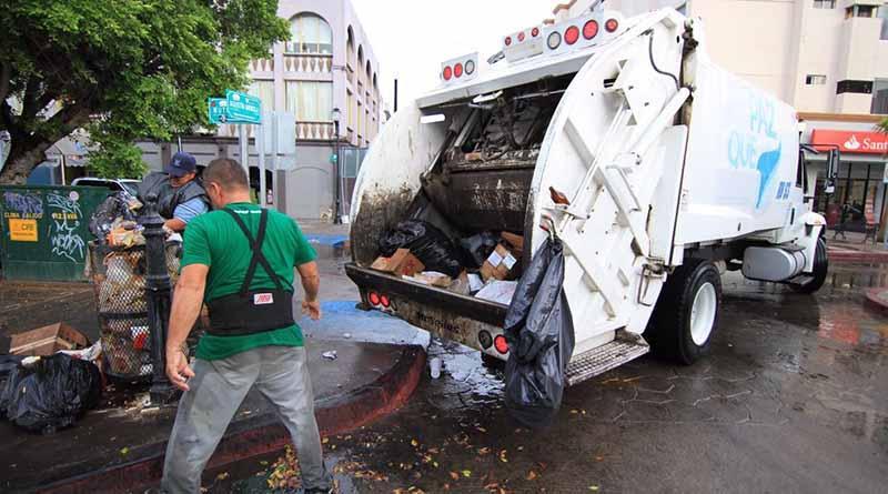 25 de diciembre y 1 de enero, no se prestará el servicio de recolección de basura