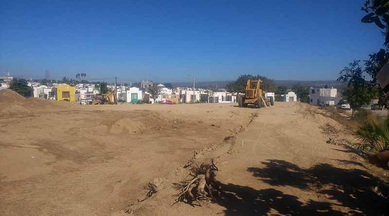 Rehabilita Gobierno de Los Cabos parque de Fraccionamiento Villa Bonita