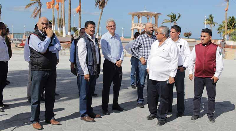 Trabaja Ayuntamiento de La Paz en los últimos detalles para llevar a cabo el Carnaval La Paz 2018