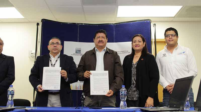 Recibe Ayuntamiento de La Paz donación de equipos de cómputo por parte de INEGI