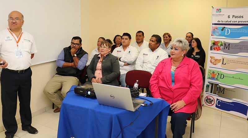Promueve SEP Capacitación de escuelas saludables en misiones culturales de BCS