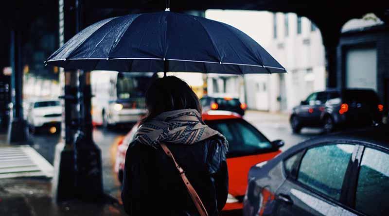 Descenso de la temperatura y lluvias fuertes se prevén en la mayor parte del país