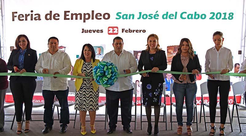 Inauguran Feria del Empleo en SJC, con más de novecientas vacantes