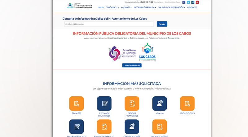 Recibe 22 solicitudes al mes, el Portal de Transparencia y acceso a la información