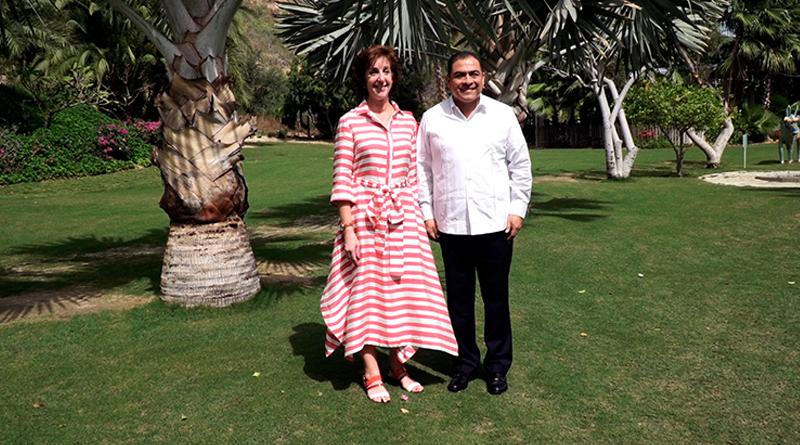Se reúne Alcalde Arturo De La Rosa con la embajadora de Estados Unidos en México