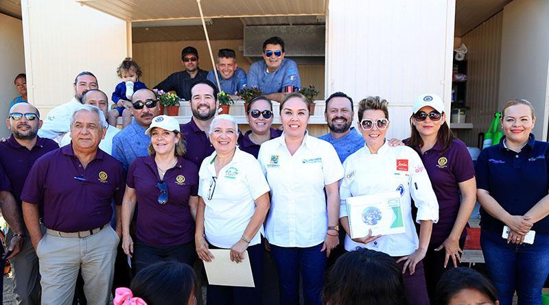 Asiste presidenta de DIF Los Cabos a la Inauguración del Comedor Comunitario en CSL