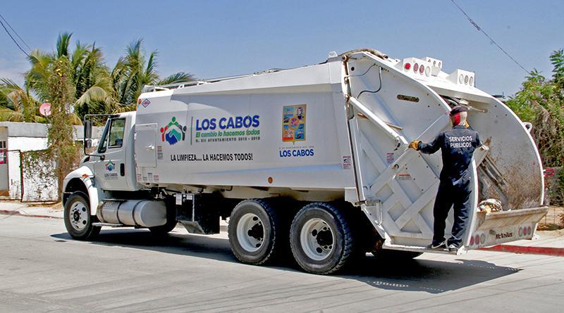 Recolecta Servicios Públicos, más de  500 toneladas diarias de basura en Los Cabos
