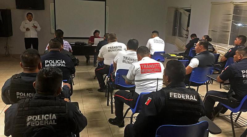 Refuerza Seguridad Pública trabajo policial con capacitación