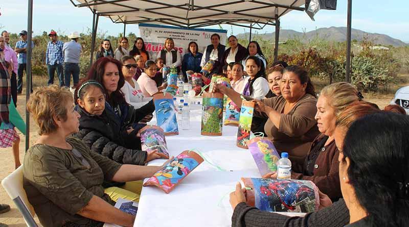 IMMUJER de La Paz, realiza Jornada de Servicios en la zona rural