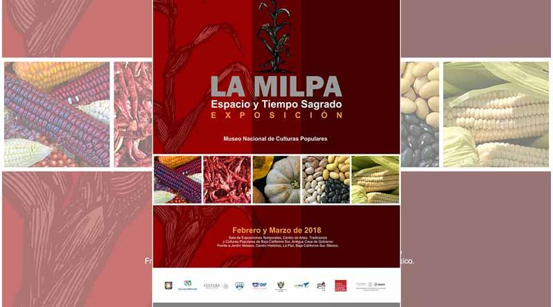 """Invita ISC a La Exposición  """"La Milpa, Tiempos y Espacios Sagrados"""""""