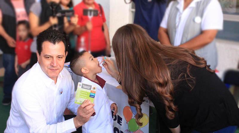 Con la meta de aplicar más de 74 mil vacunas contra la Polio inició en BCS LA 1ª  Semana De Salud