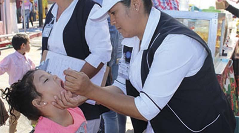 Convoca SSA a familias para que protejan a sus hijos de La Polio