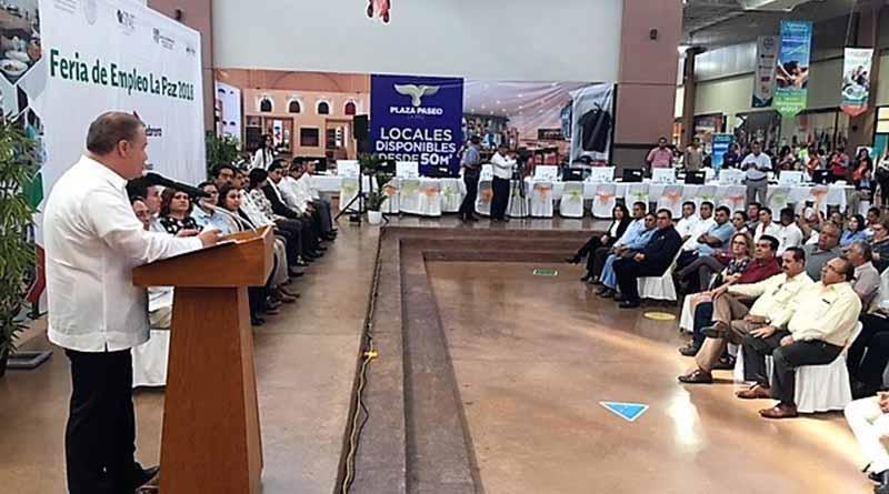 Se logran las metas en La Feria de Empleo La Paz, 2018