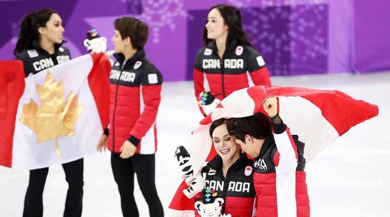 Canadá gana oro en patinaje artístico por equipo