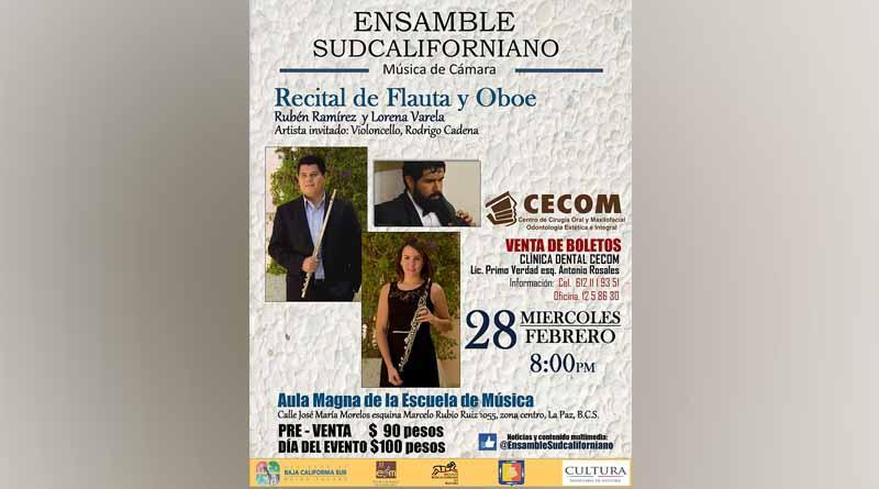 """Invita Instituto de Cultura al Concierto   """"Ensamble Sudcaliforniano"""""""