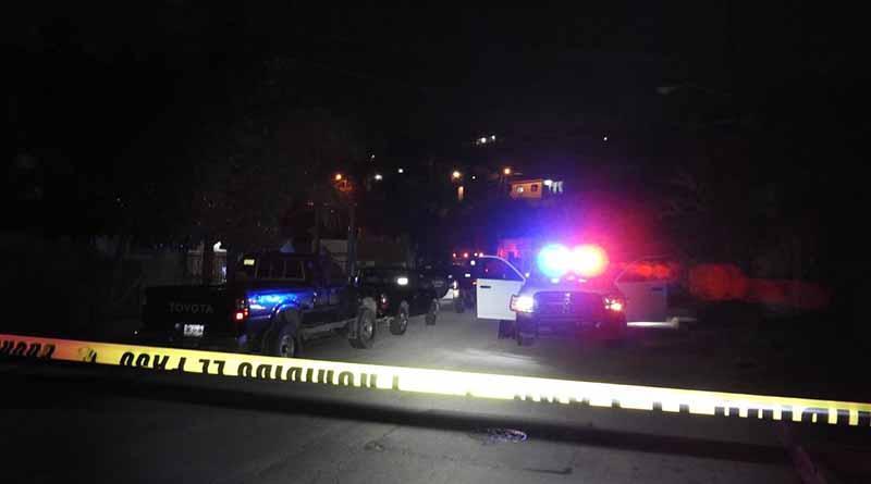 Anoche, asesinan a tiros a una persona en La Paz