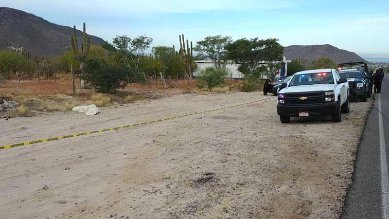 Encuentran dos personas muertas, en Santa Rosalía y en carretera a Los Planes
