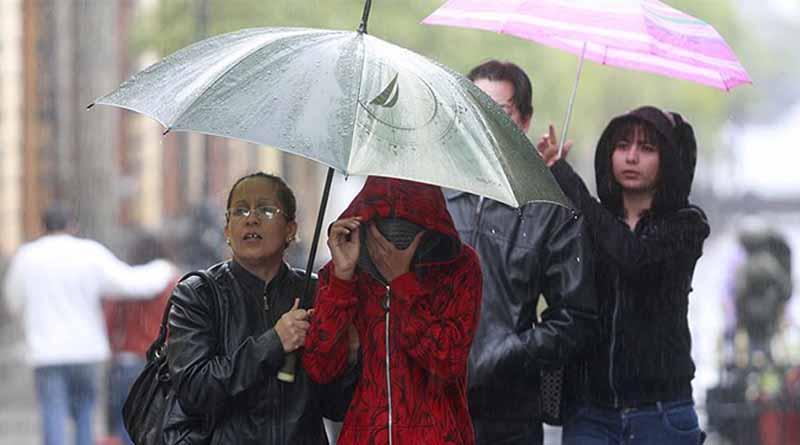 Frente frío 29 favorecerá nublados y lluvias en la mayor parte del país