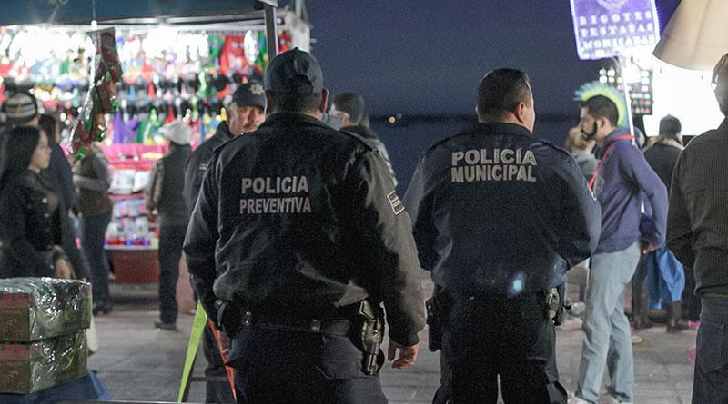 Policía Municipal lista para El Carnaval La Paz 2018