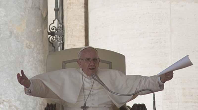 Una blasfemia usar a Dios para justificar homicidios y matanzas Papa